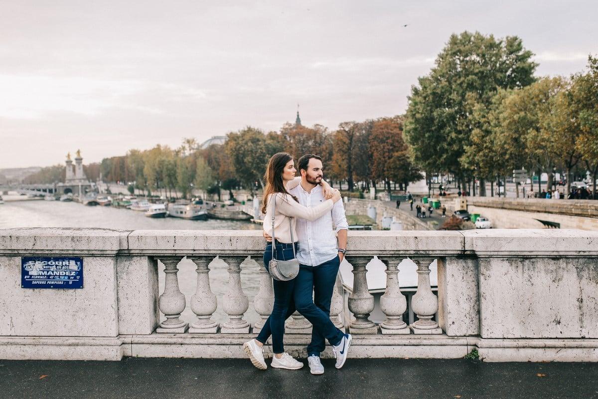 Séance engagement à Paris , luxe, amandine ropars, photographe mariage