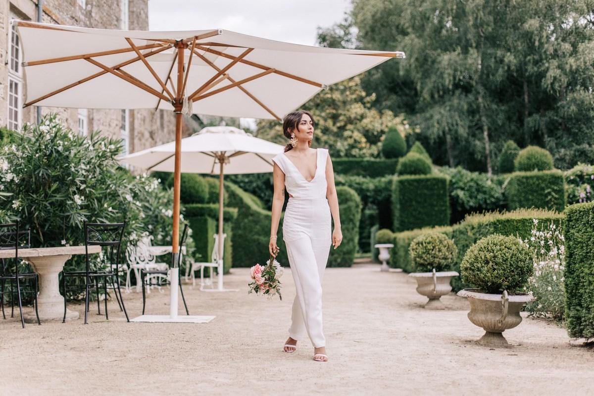 Lendemain de mariage, shooting éditorial mariage, chateau de la ballue, éditorial, mariage, summer vibes, luxe, mode
