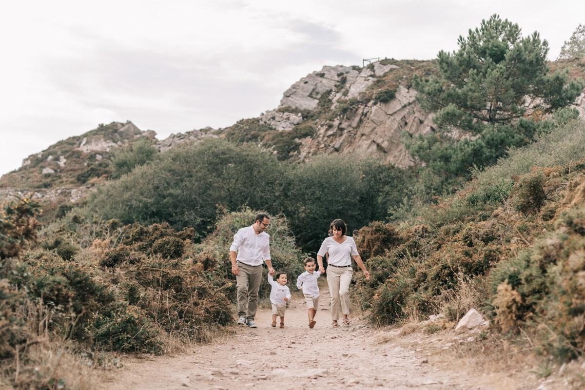 Séance Famille en Bretagne