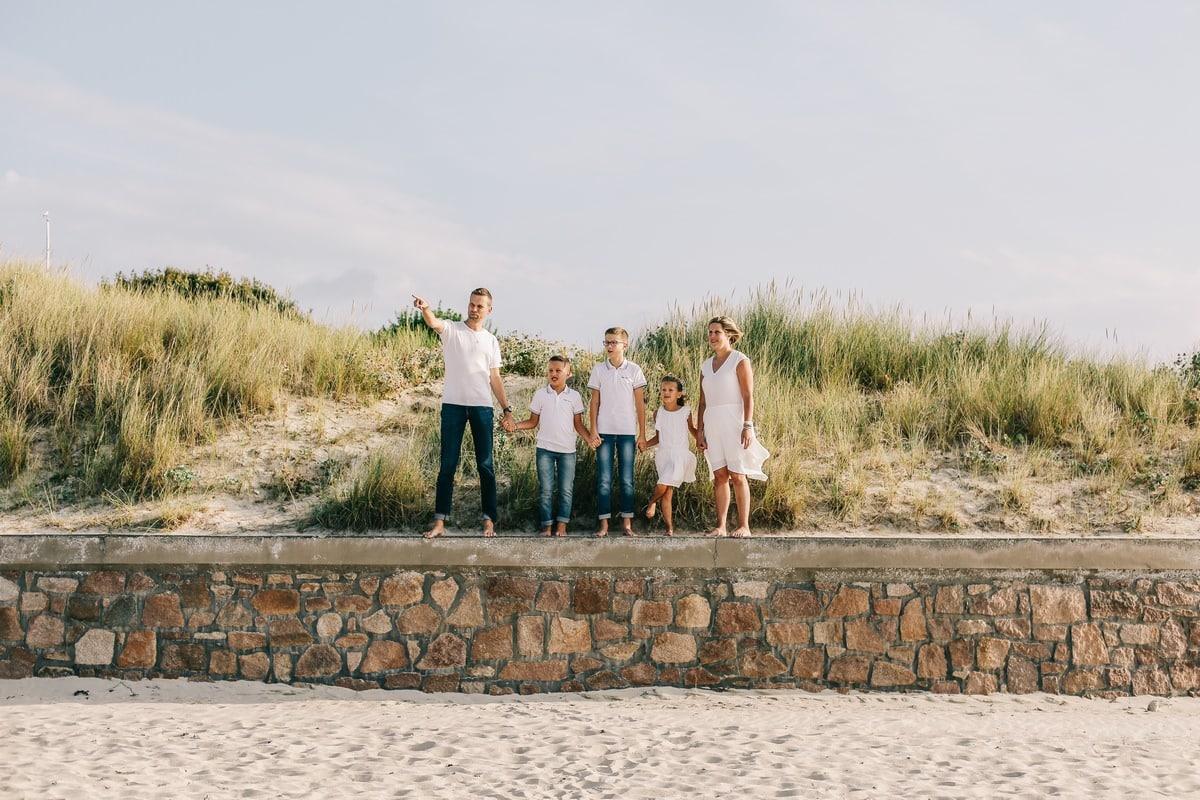 photographe de séance famille en côtes d'armor bretagne